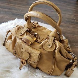 B2G1 Chloe Paddington Camel Brown Leather Handbag